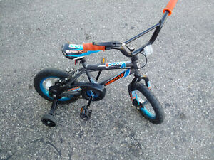 "Boy's ""EDDE Supercycle"" bicycle with hand brake"