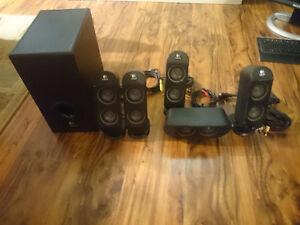 Logitech X530 surround sound computer speakers Sarnia Sarnia Area image 1