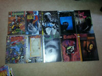 Lots of comic books for sale