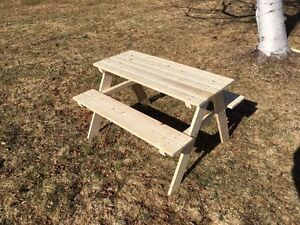 New Kids Picnic Table -Reduced-