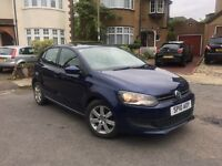 VW Volkswagen Polo 1.6 TDI Match 2010, 67,000 Miles, FULL Service History, HPI Clear