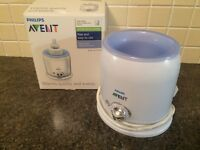 Avent bottle and food warmer and thermabag