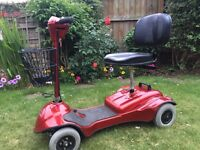 Mobility scooter , nearly new battery. £295 ono