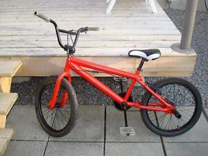 Rogue et noir BMX Red and black BMX (Nego)