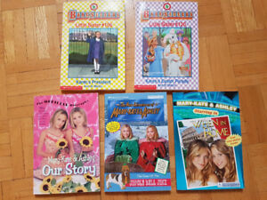 Books for girls: Mary-Kate and Ashley, Baby-sitters Club