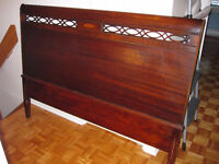 ANTIQUE SOLID WOOD HEADBOARD