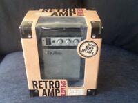 Retro amp speaker new in box