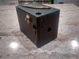 Number 2 Buster Brownie box Camera.
