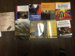 Early learning and childcare textbooks