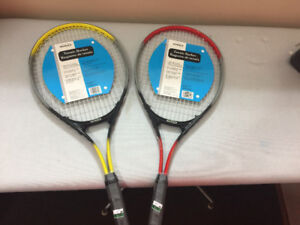 Tennis Rackets $25 OBO new for both.