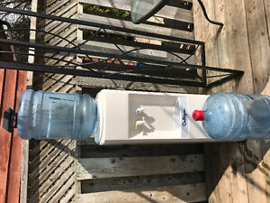 Culligan water Dispenser with 2 Bottles