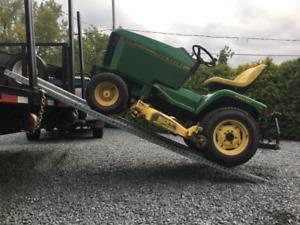Rampe chargement  remorque petit tracteur, moto, ou VTT 4 roues