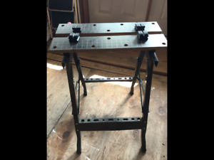 Workmate folding bench