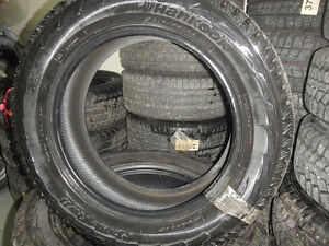 Set of 4 HanKook Winter Tires almost Brand New 275/55/R20