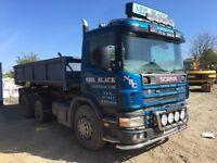 Scania hook lift
