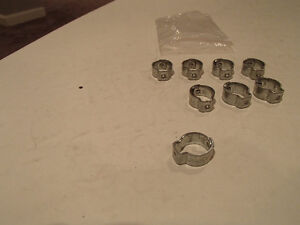 "MOPAR A B C E Body correct Fuel Line Crimp 5/16"" Clamps. Sarnia Sarnia Area image 8"