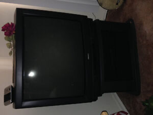 32 inch toshiba tv and stand