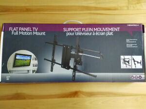 """32""""-65"""" Full Motion TV Wall Mount 45kg (99lbs) never used"""