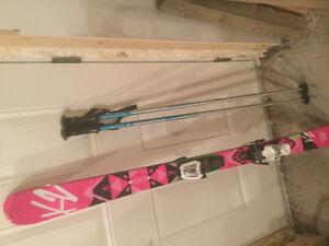 Girls K2 skis