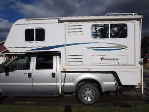 2008 Adventurer Camper 86 FB SBS with dinette slide