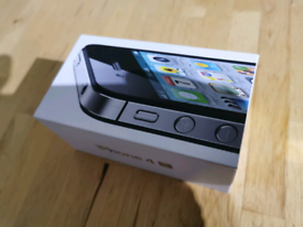 Apple iphone 4 s in box with lead and charger