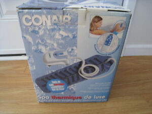 Conair Deluxe Thermal Spa with soft Bath Mat and Remote  MBTS6C
