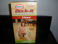 GLIDDEN DECK IT, CLEANS, STAINS AND PROTECTS, BNIB