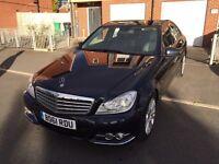 Mercedes-Benz C Class 2.1 C220 CDI BlueEFFICIENCY Elegance 4dr Full Leather+SATNAV