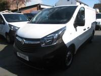 17 REG Vauxhall Vivaro 1.6CDTi ( 120PS ) ( EU6 ) 2700 L1H1 ONLY 8000 MILES