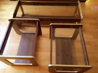 A set of Coffee Table and Two Matched End Tables for SALE!!!