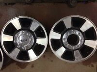 "18"" ford superduty rims and caps"