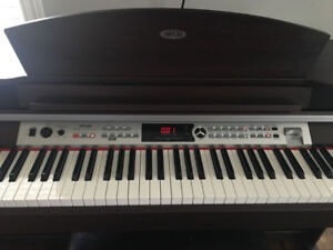 8 Key Digital Piano - Instrumental, Record Samples etc...