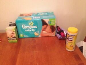 Jumbo box pampers size 4