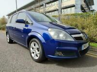 2007 Vauxhall Zafira 1.8 Design 16v 7 Seater Petrol MPV 1.8