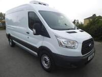 2016 FORD TRANSIT 2.2 TDCI 125 350 L3 H2 FWD FRIDGE VAN**DELIVERY MILES**BUY FRO