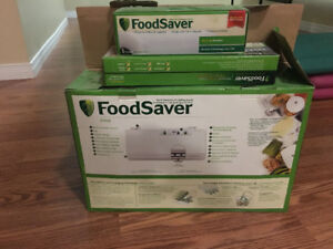 Food saver vacume packing system