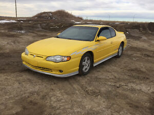 2002 Chevrolet Monte Carlo SS Pace Car Edition