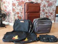 suitcases  - and hand bags