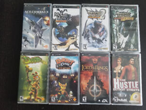 Assorted PSP Games