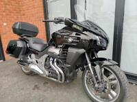 Honda CTX1300 with 3 box luggage and audio.