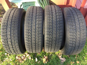 BLIZZAK TIRES 205/60/16 (SOLD PPU)