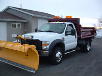 24 HOUR SNOW REMOVAL AND SALTING SNOW PLOW