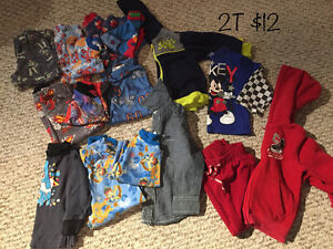 Baby boy clothes size 2T