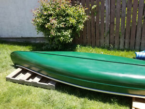 Canoe re-done this year