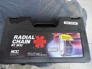 tire chains ,   NEW,   never used