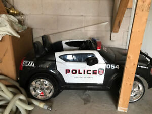 Drivable Dodge Charger Police Vehicle (for kids!) (negotiable)