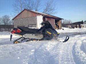 MXZ 800 Powertec skidoo for sale