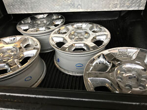 "20"" stock ford chrome rims"