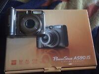 Cannon PowerShot A590 digital camera