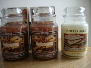 Four New Yankee Candles